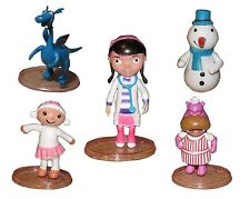 Doc McStuffins Lambie Playset 5 Figure Cake Topper * USA SELLER* Toy Doll Set