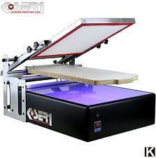 MACCHINA per la stampa dello schermo con l'esposizione ai raggi UV | All in One Stampante Kit Serigrafia