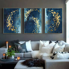 Fish Abstract Poster Modern Canvas Print Living Room Decoration Wall Picture