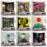 Art Tapestry Wall Hanging Bedspread Blanket Beach Towel Table Cloth Picnic Mat