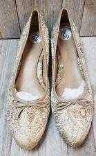 Nine and Company Womens Shoes Beige Tone Size 8.5 - Bin35