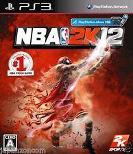 Used PS3 NBA 2K12 SONY PLAYSTATION 3 JAPAN JAPANESE IMPORT
