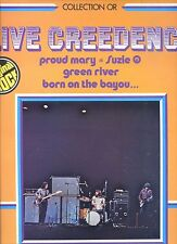 CREEDENCE CLEARWATER REVIVAL live creedence COLLECTION OR france EX LP 1975