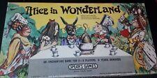 Spears-Alice In Wonderland Board Game 1973