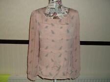 LADIES NEXT LONG SLEEVE, TOP..  SIZE 10. PINK. see pic