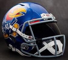 KANSAS JAYHAWKS NCAA Gameday REPLICA Football Helmet w/ OAKLEY Eye Shield