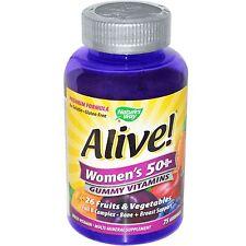 Con vida! para mujer 50+ vitaminas -75 Gomitas por Nature's Way-Multivitaminas & Mineral