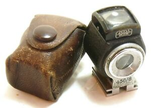 Rare Zeiss Ikon 436/8 Right Angle Finder viewfinder with case EXC-