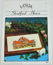 Stratford House English Cottage Designs by Vangie Counted Cross Stitch Pattern