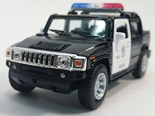 "New 5"" Kinsmart 2005 Hummer H2 SUT Police Diecast Model Toy SUV Truck 1:40 Cop"