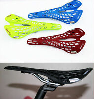 New Web Light Weight Bike Bicycle Saddle Seat MTB Road Fixed Gear Folding UK