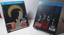 Da Vinci Code(2006)/Angels & Demons(2009)(Blu-ray,Stee lbook Edition)New-Free S&H