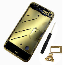 Gold Metal Aluminum Bezel Middle Frame Middle Chassis Housing Part for iphone 4S