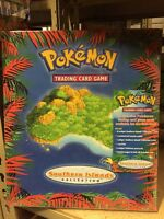 Pokemon Southern Islands Collection, Binder, Cards, Postcards And More CCG TCG