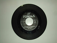 "‎‎‎The Bats/Sognando La California–Disco 45 Giri 7"" Stampa Italia 1966 No Cover"