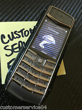 Genuine Vertu Ascent Ti Limited Edition Forged Carbon Fiber MSRP $16K Super RARE