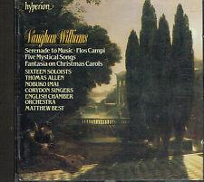 CD album: Vaughan Williams: Matthew Best. Hyperion. F