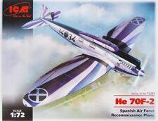 HEINKEL He 70 F-2 'LEGION CONDOR' (SPANISH AF MARKINGS)#72231 1/72 ICM