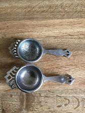 Vintage Loose Leaf Tea Strainers