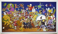 SATURDAY MORNING HEROES PRINT Hanna Barbera Herculoids Quest Scooby Yogi Fred