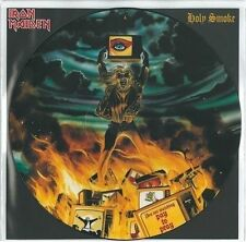 IRON MAIDEN Holy Smoke Vinyl Record 12 Inch EMI 12 EMPD 153 1990 EX Picture Disc