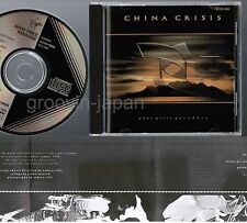 CHINA CRISIS What Price Paradise JAPAN CD 32VD-1060 1A1 TO Insert BLACK TRIANGLE