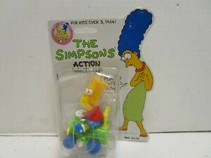 MATTEL THE SIMPSONS ACTION WIND UP BART SIMPSON  ***NEW IN PACKAGE***
