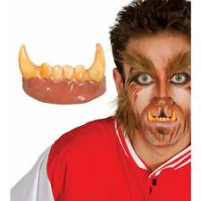 Werewolf Teeth Horror Halloween Adult Wolf Man Fancy Dress Accessory