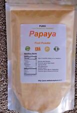 Papaya 2Lb Fruit Powder by PURO SKIN HAIR HEALTH FRESH BRAZIL Non GMO