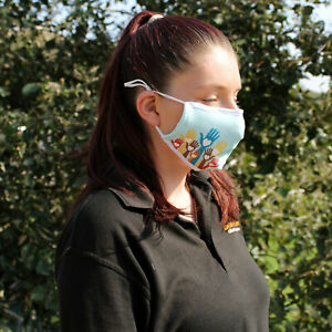Reusable Face Mask with Filter Washable Protection Car Fumes Shopping Travel