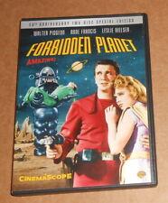 Forbidden Planet Cinemascope Movie DVD Walter Pigeon