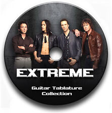 EXTREME ROCK GUITAR TAB TABLATURE SONG BOOK LIBRARY SOFTWARE CD
