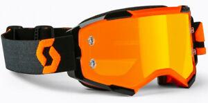 Scott - Fury Goggle Orange/Black Orange Chrome Works Lens MTB DIrt MX Moto