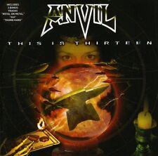 Anvil - This Is Thirteen [New CD] Bonus Tracks