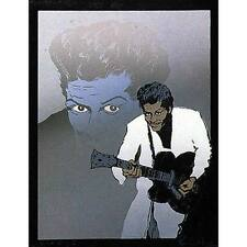 "RONNIE WOOD "" Chuck Berry II ""  HAND SIGNED ROLLING STONES SCREENPRINT framed"