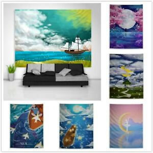Abstract Fantasy River Fansy Tapestry Art Wall Hanging Cover Poster