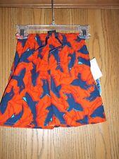 First Wave Boys Size 2 Swim Trunks Spicy Orange Sharks