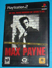 Max Payne - Sony Playstation 2 PS2 - USA