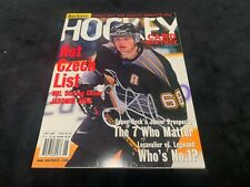 Beckett Magazine Autographed by Jaromir Jagr Certificate by All Sports
