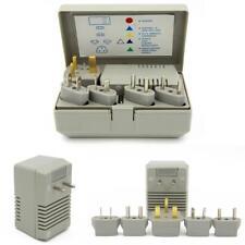 Step Down 50-1600 Watt Travel Voltage Converter Transformer Kit Plug Adapters