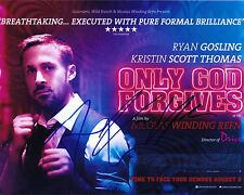 Ryan Gosling & Nicolas Winding Refn signed Only God Forgives 8x10 photo - Drive