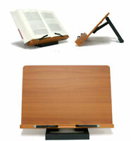 Portable Folding Book Stand Reading Desk Documents Bible Ipad Holder Bookholder