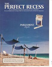 1990 Parliament Lights Cigarette Advertisement