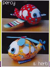 PATTERN - Percy & Herb - cute softie toy PATTERN by Melly and Me