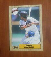1987 Topps San Diego Padres Baseball Card #530 Tony Gwynn