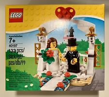 Lego 40197 Wedding Favor Bride and Groom Couple Bridal Cake Topper Free Shipping