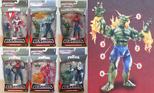 Marvel Legends build Goblin Electro Deadliest Skyline Sirens Spiderman Symbiotes