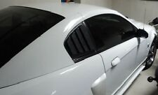 2003-2004 Mustang Mach 1 ABS Rear Quarter Window Louver.  Only fits Mach 1