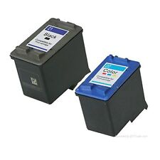 2x Refilled Ink Cartridges for HP 21 HP 22 for HP Deskjet 3910 3930v D1311 D1320