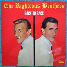 The Righteous Brothers- BACK TO BACK- LP Record 1965, Australian 1st Pressing